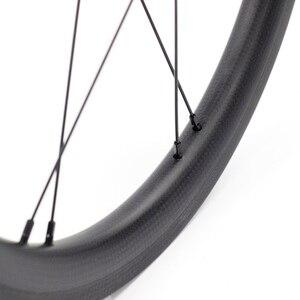 """Image 4 - Silverock عجلات الكربون 16 """"1 3/8"""" 349 ريم الفرامل 38 مللي متر الفاصلة 1 3S ل Brompton 3 ستين للطي دراجة مخصصة دراجة العجلات"""