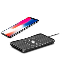 Top Non-Slip Fast Charging Wireless Car Charger Pad For Iphone X 8 8Plus Samsung S8/S8+/S7/S7Edge/ S6/ Edge/Note8/5(China)