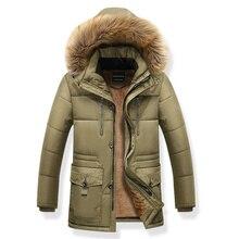 2019 Thickening Parkas Men Winter Jacket Men's Coa