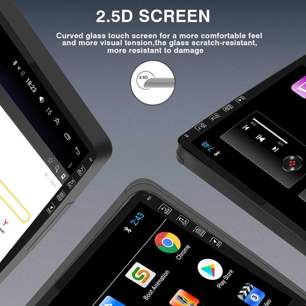 2DIN Android 9.0 araba radyo 2009-2015 Renault Logan I Sandero Lada Lergus Dacia araba multimedya Video oynatıcı navigasyon GPS