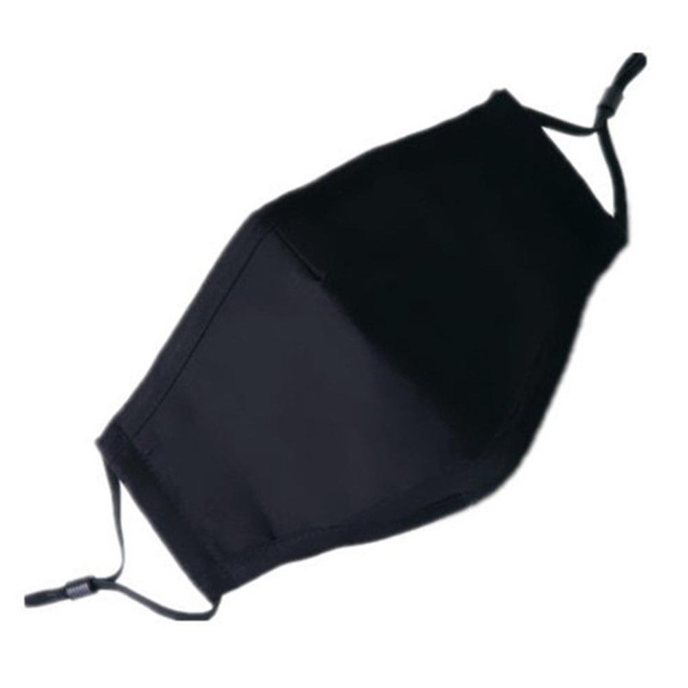 Fashion Unisex Cotton Breath Valve Pm2.5 Mouth Mask Anti-Dust Anti Pollution Mask Cloth Activated Carbon Filter Mask 1Pcs
