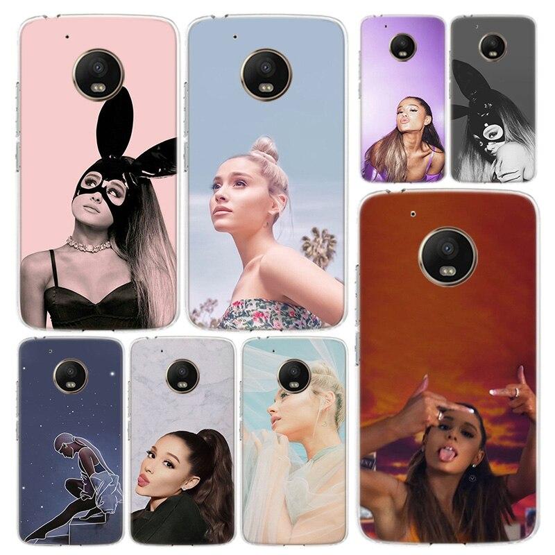 Ariana Grande Phone Case Cover For Motorola Moto G8 G7 G6 G5S G5 G4 E6 E5 E4 X4 Play Plus Power + One Action Coque