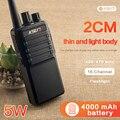 Бесплатная доставка Новинка KSUN X-30PLUS портативная рация 5 Вт 16CH UHF двухсторонний радиоприемопередатчик для мобильного телефона