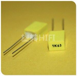 Image 1 - 50 pièces AV R82 1 uF/63 V P5MM condensateur film cuivre jaune KEMET 105/63V MKT 1K63 1000nF 63V Arcotronics RSB 1UF63V 105K63