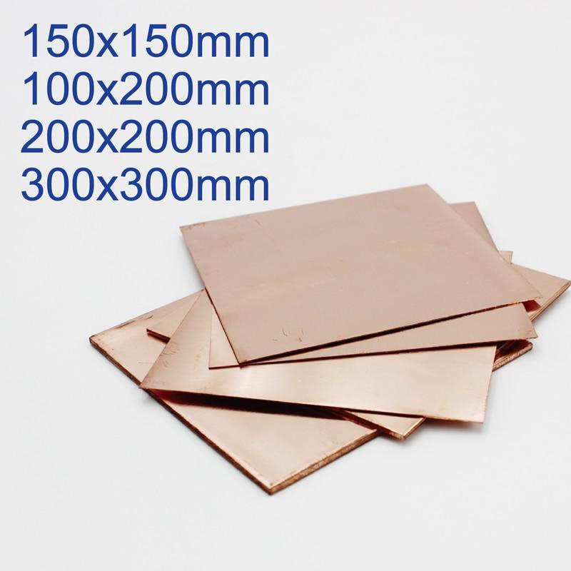 Copper Sheet Plate 0.5mm 0.8mm 1mm 1.5mm 2mm 3mm 4mm 5mm 6mm