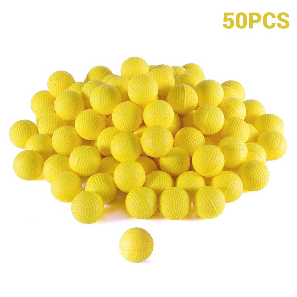 50 шт патронов пены патроны пополнения заменить пули шарики пакет Для детей игрушка совместимый для Nerf соперника бластеры Apollo пули #20|Мячики|   | АлиЭкспресс