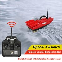 T188 RC Boat Intelligent Wireless Electric Fishing Bait Remote Control Boat Fish Ship Searchlight Toy Gifts For Kids