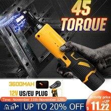 7200mah Efficient Power Cordless Ratchet Wrench 3/8