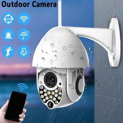 Bezpieczeństwa w domu HD 1080P kamera IP bezprzewodowy do drzwi na zewnątrz Cam 17LED 2MP wysokiej prędkości CCTV kamera na podczerwień z dźwiękiem alarmu światła funkcja w Kamery nadzoru od Bezpieczeństwo i ochrona na