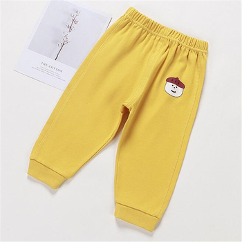Baby's Cotton Pants with Elastic Waist 5