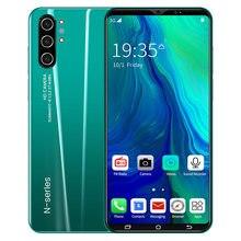 Teléfono Inteligente note 10, pantalla completa de 2021 pulgadas, 8 núcleos, 4GB, cámara Dual, Android, 5,0 mAh, enfoque rápido, novedad de 4000