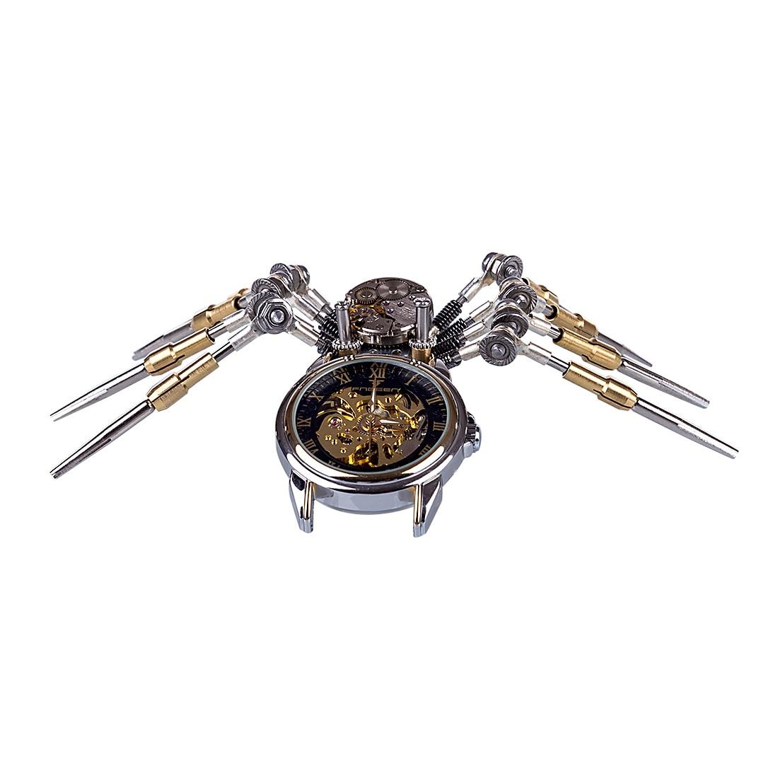 Bricolage assemblé modèle Kit métal mécanique horloge modèle ornements maison bureau décor Art créatif noël cadeaux 2019