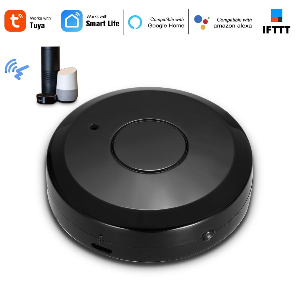 Tuya WiFi IR Controle Remoto IR Hub WiFi 2.4Ghz Controlador Remoto Infravermelho Universal Para Alexa Google Casa Condicionador de Ar TV