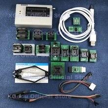 Zwart Socket V10.27 Xgecu TL866II Plus Usb Programmer Ondersteuning 15000 + Ic Spi Flash Nand Eeprom Mcu Vervangen TL866A TL866CS + 16 Onderdelen