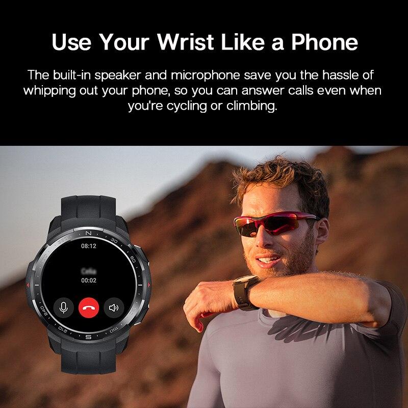 Смарт-часы Honor Watch GS Pro глобальная версия с экраном 1,39 дюйма и Пульсометром-3