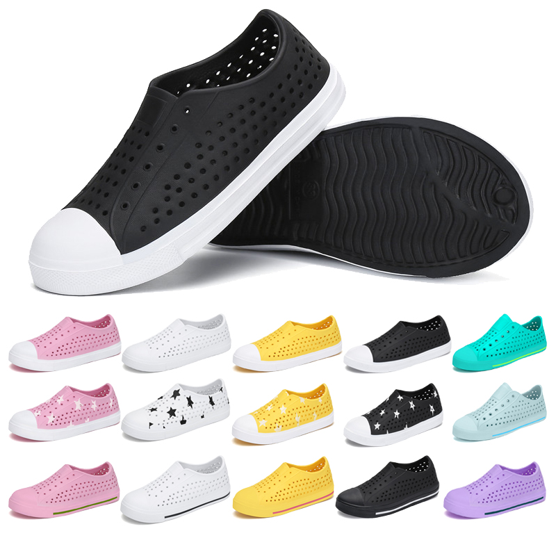 Summer Beach Sandals Kids Shoes Outdoor Clogs Boys Girls Flat Shoes Children Casual Shoes Breathable Sneakers Tenis Infantil