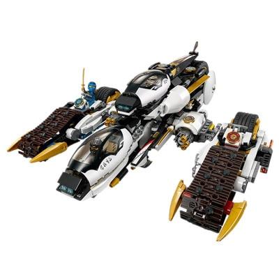 Technic 2020 Ninja Fire Fang Spinjitzu Building Blocks Kit Bricks Classic Movie Ninja Model 70674 Kids Toys For Children 2