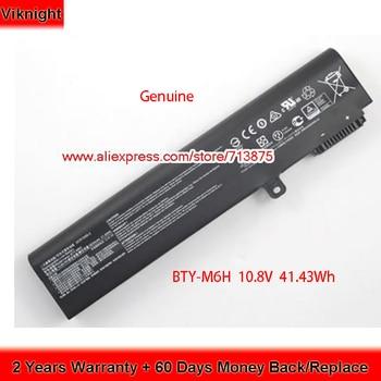 Genuine 10.8V 3834mAh BTY-M6H Battery for MSI GE62 MS-16J1 MS-16J2 3ICR19/65-2 3ICR19/66-2 GE63 8RF GE63VR 7RE GE63VR 7RF