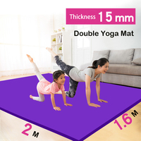 Factory Sale Extra Large Double Yoga Mat 2m Thickened Widened Lengthened Antiskid Environmental Protection Children's Yoga Mat