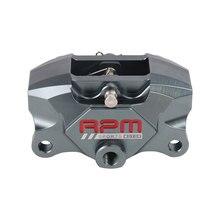 RPM silnik motocykl tylny hamulec zacisk hamulca Pumb P2x34mm 84mm montaż osiowy dla Yamaha Kawasaki Ducati Honda Suzuki modyfikuj
