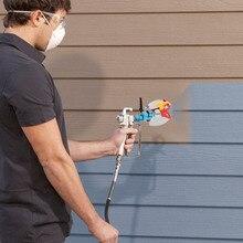 Многофункциональный распылитель с регулируемой перегородкой и распылительным соплом для разделения цвета для безвоздушного распылителя