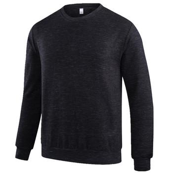 Męska koszulka z długim rękawem jesienno-zimowa w nowym stylu odzież męska odzież bawełniana odzież sportowa prosta koszula tanie i dobre opinie