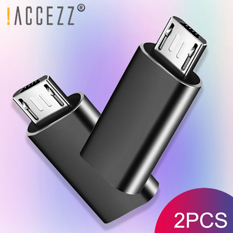 !ACCEZZ Micro USB Male Adapter To Type-C Female OTG Data Sync Converter Android Phone For Xiaomi Redmi 4X Samsung Galaxy S7 Plus