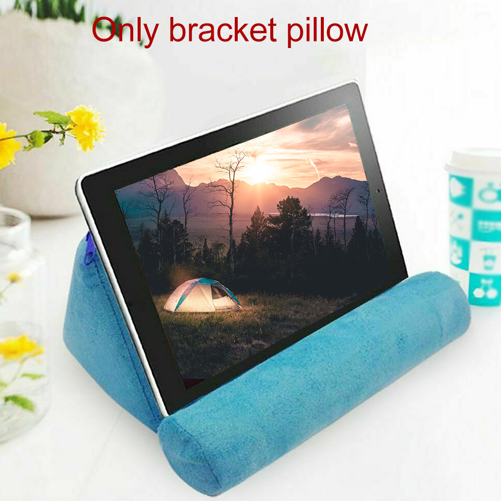 Pillow Stand Cushion Office Home Tablet Holder Bed Foldable Mobilephone Sponge Support Car Book Reading Portable Rest
