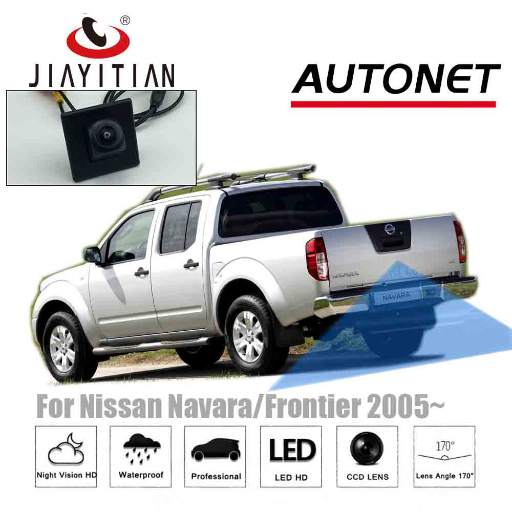 JIAYITIAN Rear View Camera For Nissan Navara NP300 ST/Frontier 2005 2006~2018 2012 2013 CCD/backup Camera Reverse Camera