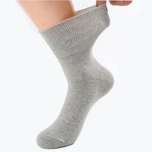 Носки для диабетиков, предотвращающие варикозное расширение вен, носки для диабетиков, гипертензивных пациентов, свободный стиль, бамбуковое волокно, хлопковый материал