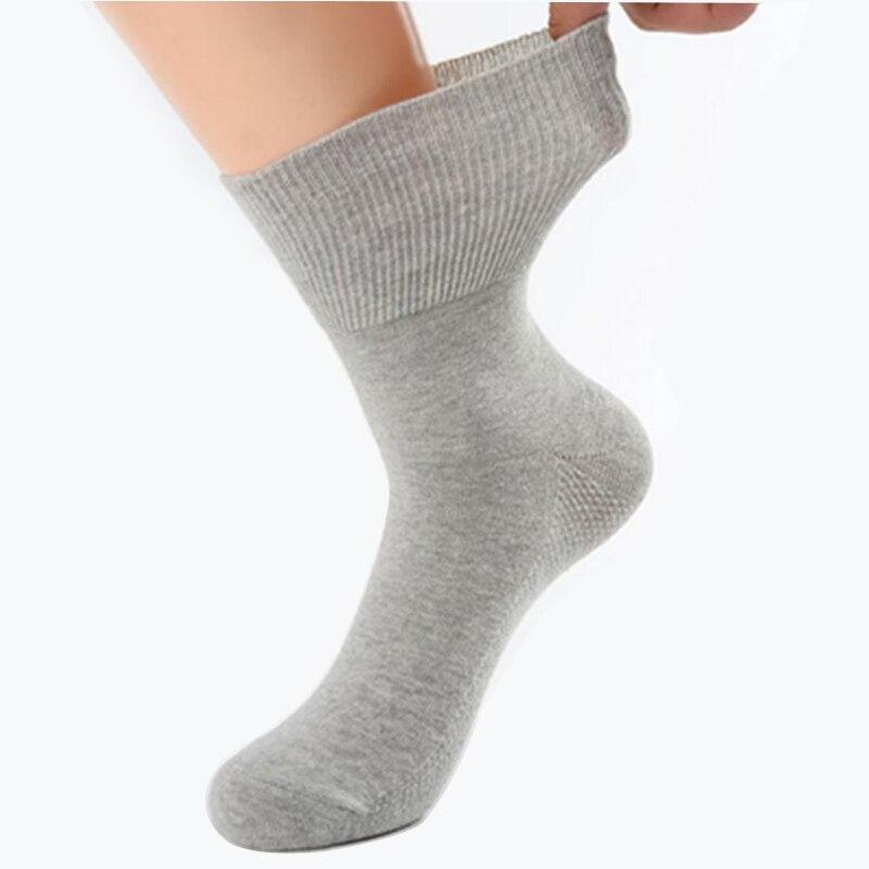 Chaussettes diabétiques Fiber de bambou | Pour Patients hypertensifs, Style gratuit, chaussettes en coton
