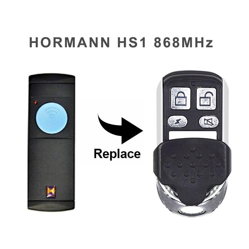 Clone 1 Channel Hormann HS1 868 MHz Blue Button HORMANN Remote Control Garage Gate 868.35MHz