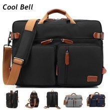 Cool Bell Brand Messenger Backpack Laptop Bag 15,15.6,17,17.3 Inch Notebook Waterproof Man Shoulder Case,Packsack,Dropship 5005