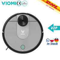 [In Stock]New Xiaomi VIOMI V2 Pro 2100Pa Strong Suction Self charging Robot Vacuum Cleaner LDS Sensor 2 in 1 Sweeping Mopping
