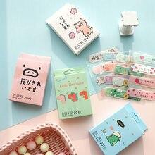 20 pièces/boîte premiers soins bande de dessin animé mignon Bandages adhésifs Kit d'urgence pour enfants enfants plâtre