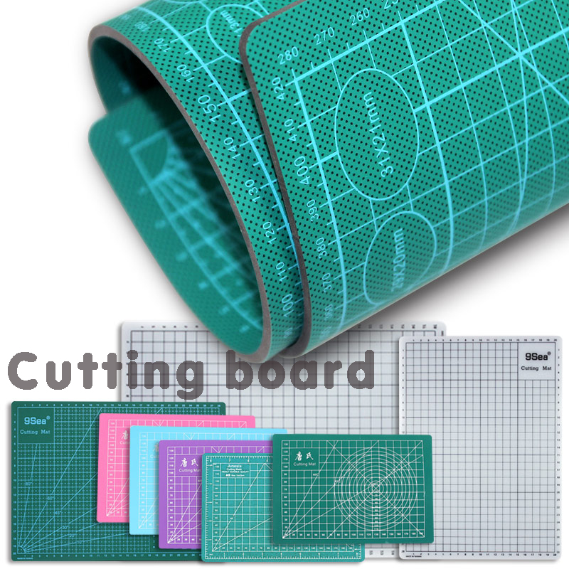 A5 A4 A3 Leather Crafting Cutting Pad Carved Soft Pad Handwriting Pad, Diy Manual Self-healing Cutting Pad With 3mm Thickness
