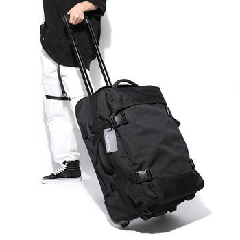 Duży wózek podróżny torby wózek podróżny walizka na kółkach torby kobiety mężczyźni torba na kółkach bagaż biznesowy bagaż walizka na kółkach tanie i dobre opinie POLIESTER CN (pochodzenie) 2 8kg 61cm 36cm Spinner One way wheel Unisex neutral both male and fem 56-75L Sandwich zipper pocket