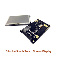 5 Inch/4.3 Inch RGB Screen Touch Screen Display Adapt to Atomic Development Board