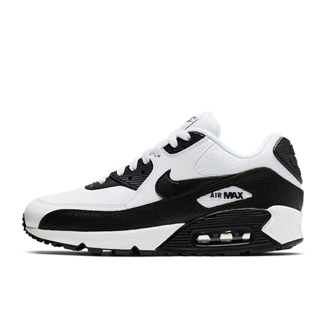 Original Authentic NIKE AIR MAX 90 ESSENTIAL Mens Running Shoes Outdoor Sneakers Lightweight 2019 New Color Matching 325213-060