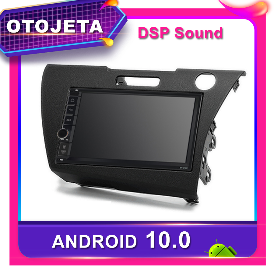 Frame android 10.0 car radio Player for <font><b>Honda</b></font> CR-Z 2011 Car <font><b>GPS</b></font> <font><b>HONDA</b></font> <font><b>CRZ</b></font> 2012 CAR multimedia DSP sound Stereo DVR tape recorder image