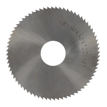 цена на Utoolmart 72 Teeth Circular Saw Blade Rotary 16mm Arbor 50/60/63mm HSS Blades 0.3~4mm Thickness Milling Cutter Power Tool 1pcs