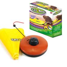 Zabawka dla kota interaktywna kij elektryczna obrotowa zabawka dla kota zagraj w zabawkę automatyczna ruchoma zabawka dla kotków zwierząt domowych tanie tanio Myszy i zwierząt zabawki CN (pochodzenie) cats Z tworzywa sztucznego Cat toy Interactive Cat training toy battery needed( not include)