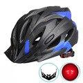 Сверхлегкий велосипедный шлем  EPS + PC чехол  MTB  дорожный велосипедный шлем  полностью формованный велосипедный шлем  защитный светодиодный ш...