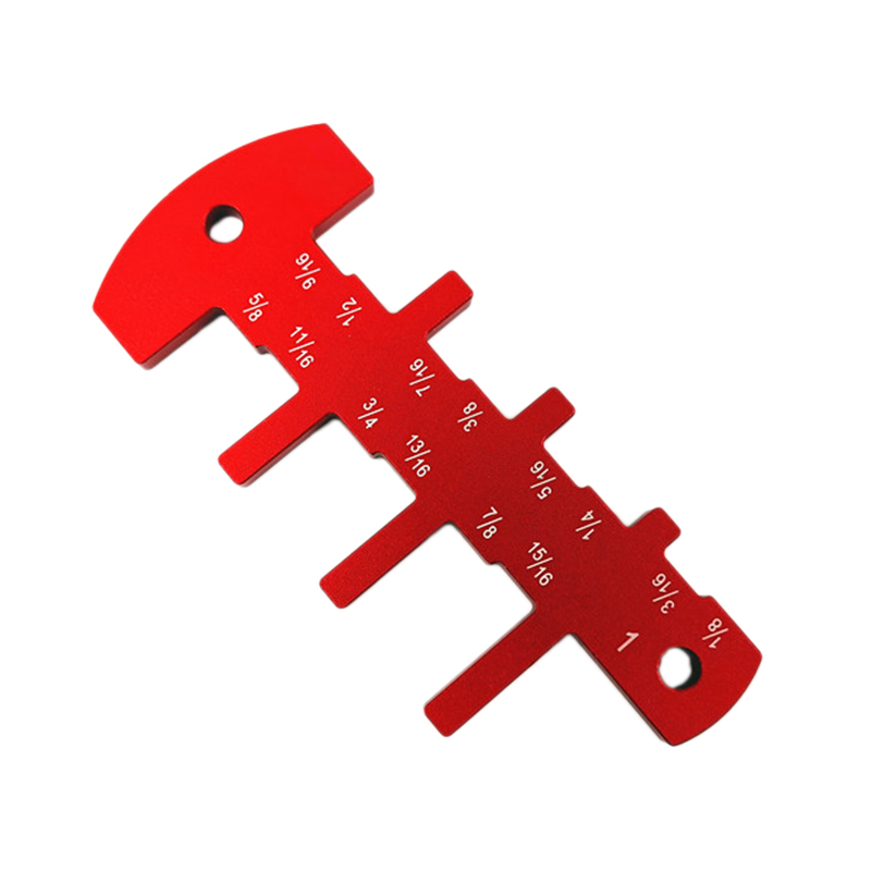 Inch Cutter Head Height Ruler Measuring Gauge Tool for Table Saw Milling Machine Flip Chip Engraving Woodworking DIY Tool|Gauges| |  - title=