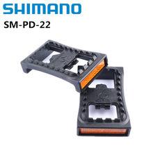 Shimano SM-PD22 SPD Klampe Flache Mountainbike Pedal Fahrrad PD-22 Für M520 M540 M780 M980 Klick MTB Pedale PD22