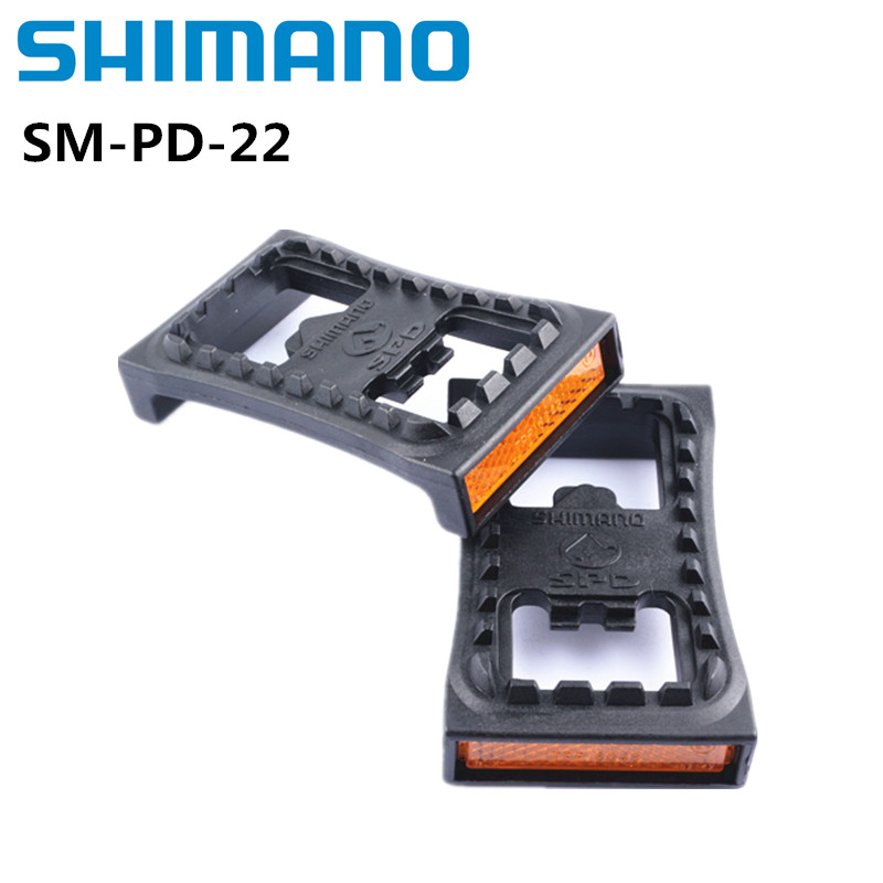 Shimano SM-PD22 SPD Cleat Flat Mountain Bike Pedal Bicycle PD-22 For M520 M540 M780 M980 Clipless MTB Pedals PD22