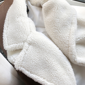 Image 5 - Winter Overcoat Women Faux Fur Coat Luxury Long Fur Coat teddy Jacket Loose Lapel Shaggy Coat Plus Winter Thick Warm Fluffy