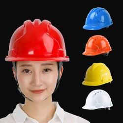 Konstrukcja ABS kaski ochronne kask inżynierii elektrycznej kask ochronny pracy wysokiej jakości mężczyzna kobiet czapka robocza