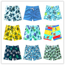 2019 Brand Turtles Beach Board Shorts Men Swimwear Penguin Mens Bathing Short clothing Summer Swimtrunks