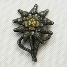 Tomwang2012. WW2 الألمانية EM إديلويس جبل شارة غطاء معدنية ميدالية طلقات الكلاسيكية العسكرية هدية